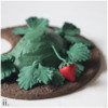 Step 3d - Attach Strawberries: Cookie and Photos by Aproned Artist