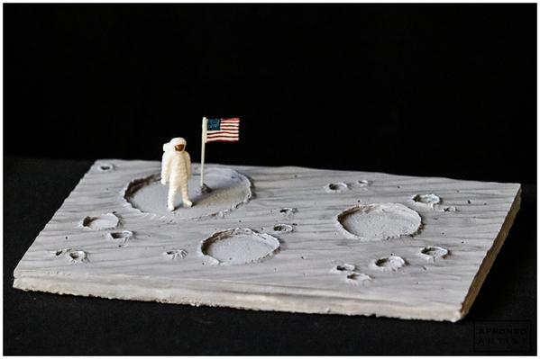 Moon Landing Cookie