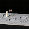 Moon Landing Cookie: Cookie and Photo by Aproned Artist