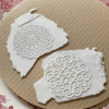 Icing Imprinted with SugarVeil Mat: Photo by Julia M Usher