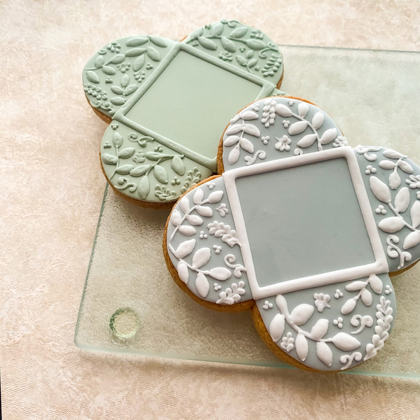 #4 - Botanical Frame Cookie by Nozomi