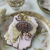 Another Cookie Using Embossed Royal Icing: Cookie and Photo by Julia M Usher