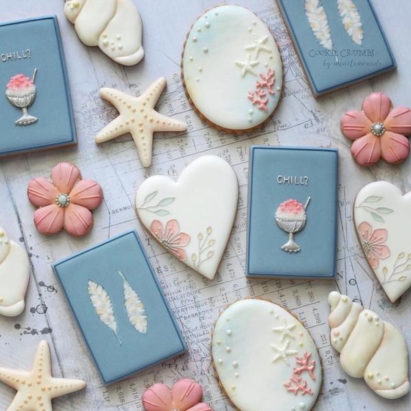 #1 - Summer Cookies by mintlemonade (cookie crumbs)