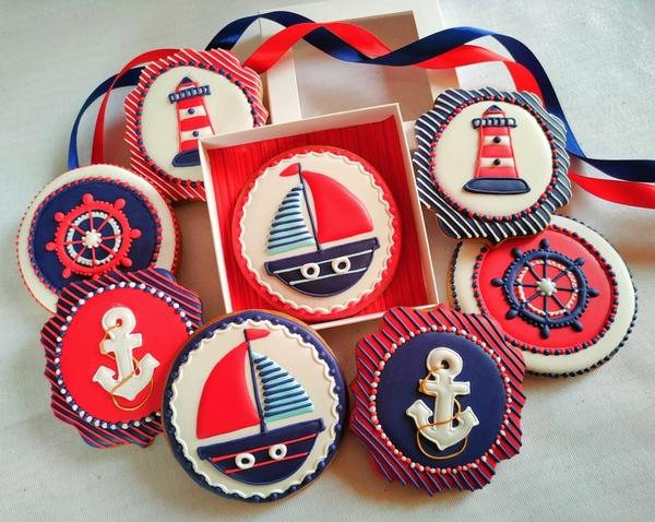 #2 - Sailing Cookies by Bożena Aleksandrow
