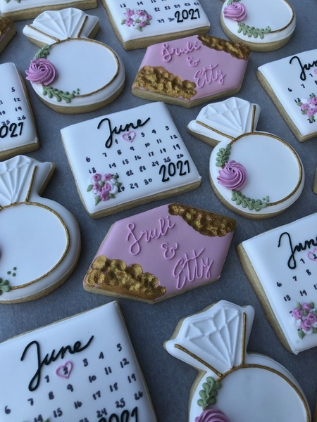 #4 - Engagement Cookies by The Cookie Fantasy