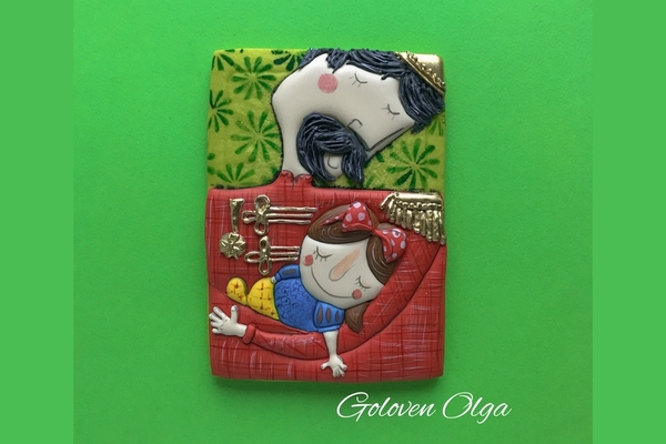#9 - Father's Day Cookie by Olga Goloven