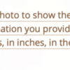 Item #16 on 3-D Entry Form: Screenshot