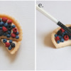 Steps 2d and 2e - Fill Tart, and Brush Fruit with Corn Syrup Mixture: Cookie and Photos by Aproned Artist