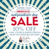 Independence Day Stencil Sale Banner: Graphic Design by Confection Couture Stencils
