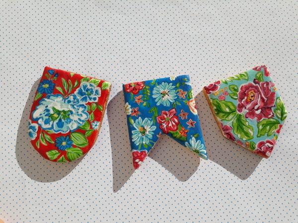 #2 - Festa Junina Little Banners by Elke Hoelzle