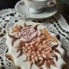 #4 - Handpainted Floral in Royal Icing Relief: By Mariana Meirelles