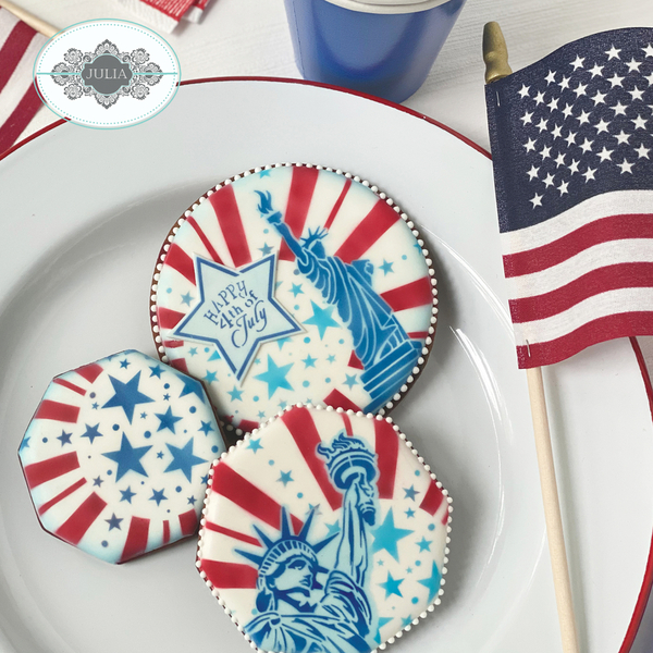 #5 - Happy Fourth of July by Julia M. Usher