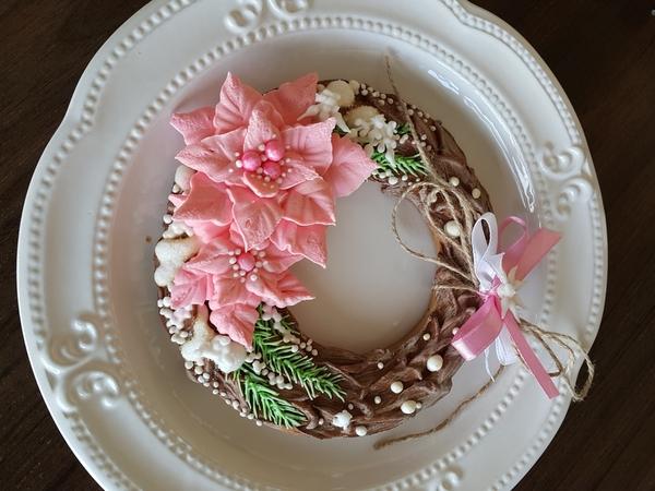 #10 - Пуансеттия розовая (aka Pink Poinsettia) by Olesia Gul