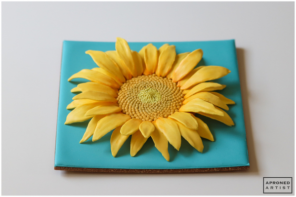 Final Sunflower Cookie