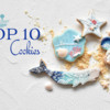 Top 10 Cookies Banner - July 24, 2021: Cookies and Photo by coco.icingcookie; Graphic Design by Julia M Usher