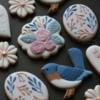 #1 - Birds and Flowers: By mintlemonade (cookie crumbs)