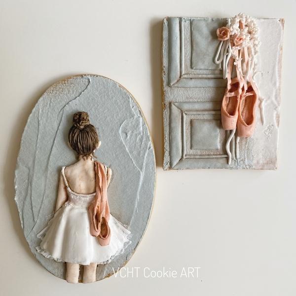 #4 - Ballet Girl by VCHT Cookie ART