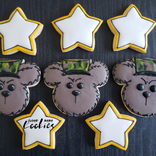 #8 - Army Bear by Kyra Manthe