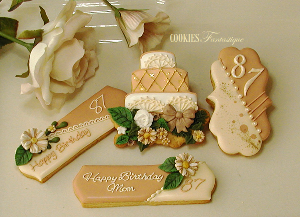 #1 - Mom's 87th Birthday by Cookies Fantastique