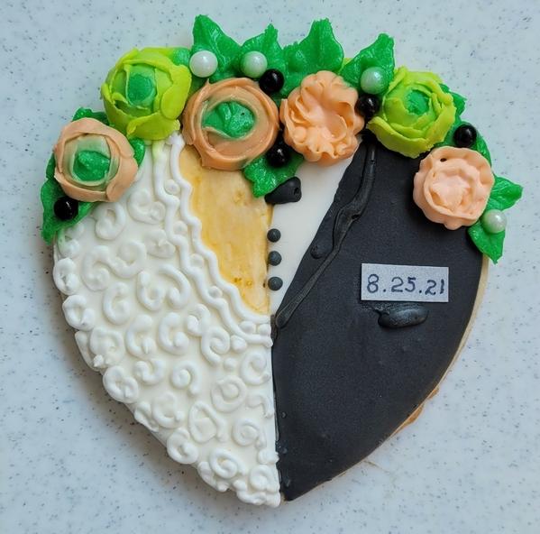#3 - Heart Wedding Cookie by Zeena