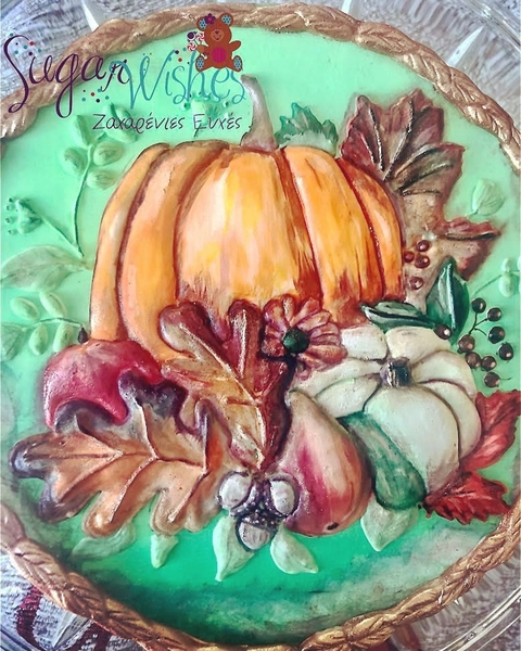 #4 - Autumn Harvest by Tina at Sugar Wishes