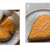 Steps 2f and 2g - Pipe Dots Around Decorative Loop Pattern: Design, Cookie, and Photos by Manu