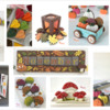 More Colorful Fall-Themed Cookie Project Tutorials: Cookies, Photos, and Tutorials by Manu