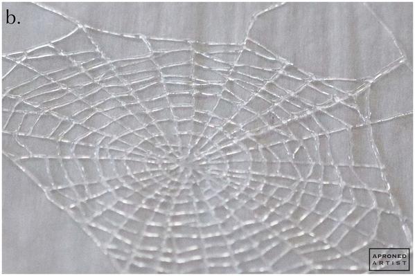 Step 1b - Pipe Spiraling Threads of Spiderweb