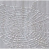 Step 1b - Pipe Spiraling Threads of Spiderweb: Photo by Aproned Artist