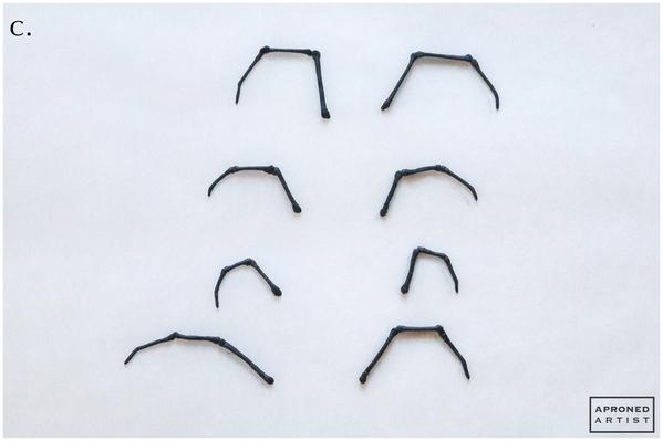Step 2c - Pipe Spider Legs