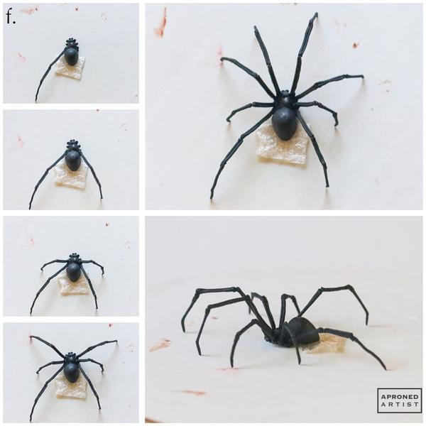 Step 2f - Attach Spider Legs