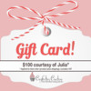 Gift Card Prize to Confection Couture Stencils: Prize Donated by Julia M Usher; Graphic Design by Confection Couture Stencils and Julia M Usher