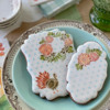 Even Closer!: Cookies and Photo by Julia M Usher; Stencils Designed by Julia M Usher with Confection Couture Stencils