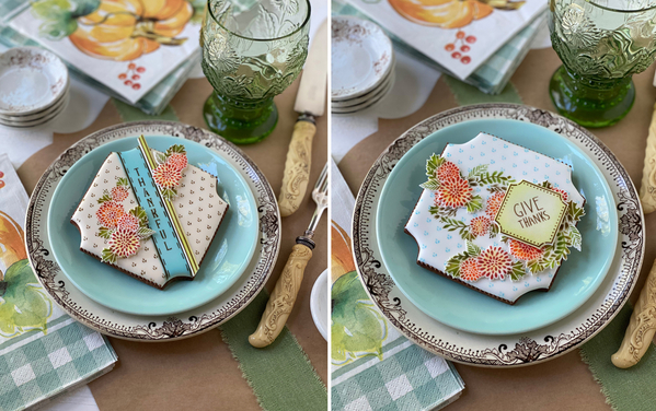 #3 - Thanksgiving Place Cards by Julia M Usher