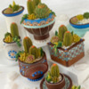 #7 - 3-D Cookie Container Garden: By Julia M. Usher