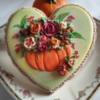 #8 - Autumn Bouquet on Heart: By Bożena Aleksandrow