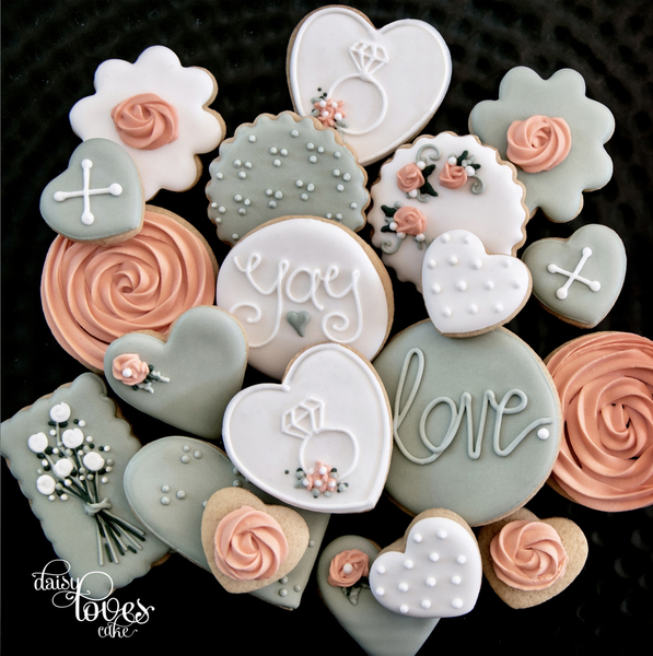 #9 - Engagement Florals by Daisy Loves Cake