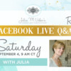 Competition Q&A #2 Replay Graphic: Graphic Design by Elizabeth Cox