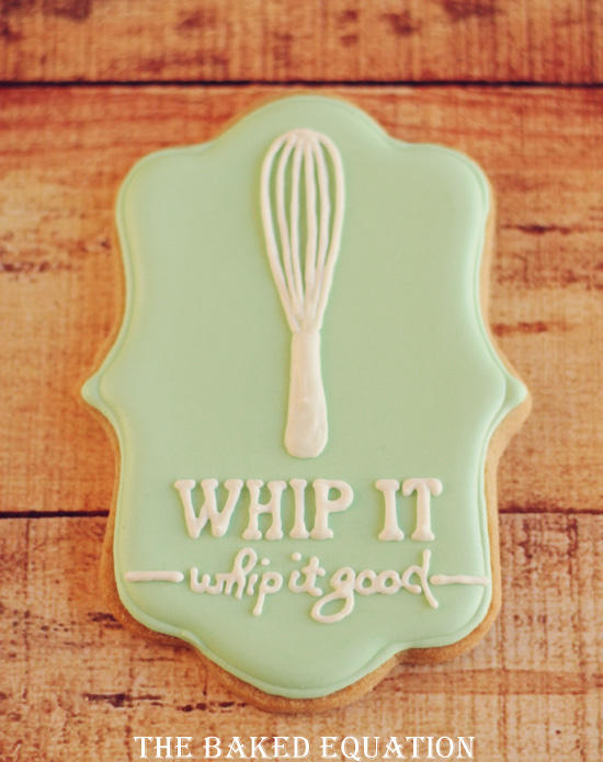 Bakers Themed Cookies Whip It