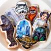 Star Wars themed cookies