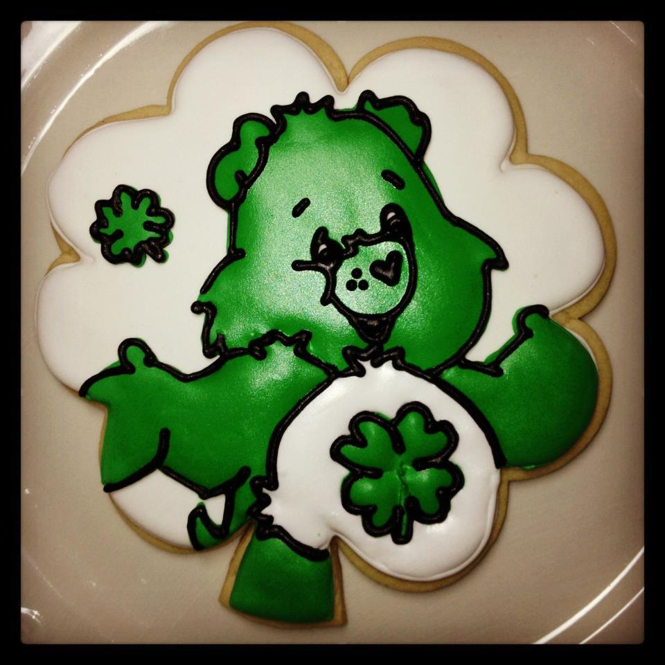 Lucky Care Bear for St Patrick's Day