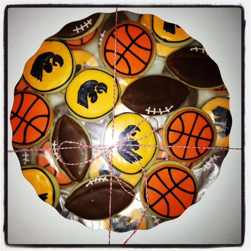 University of Iowa Sports Themed