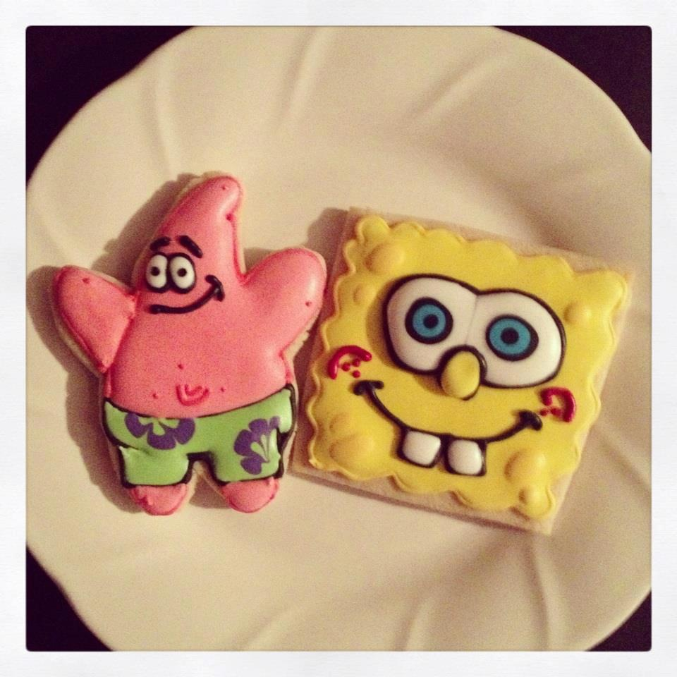Patrick Star and Spongebob Squarepants