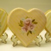 Vintage Blossoms Valentine's cookies