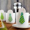 Father's Day Mug Hanging Necktie Cookies (1)