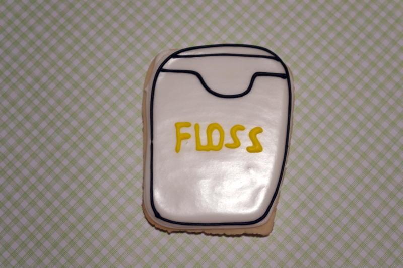 Dental TY cookies - Floss