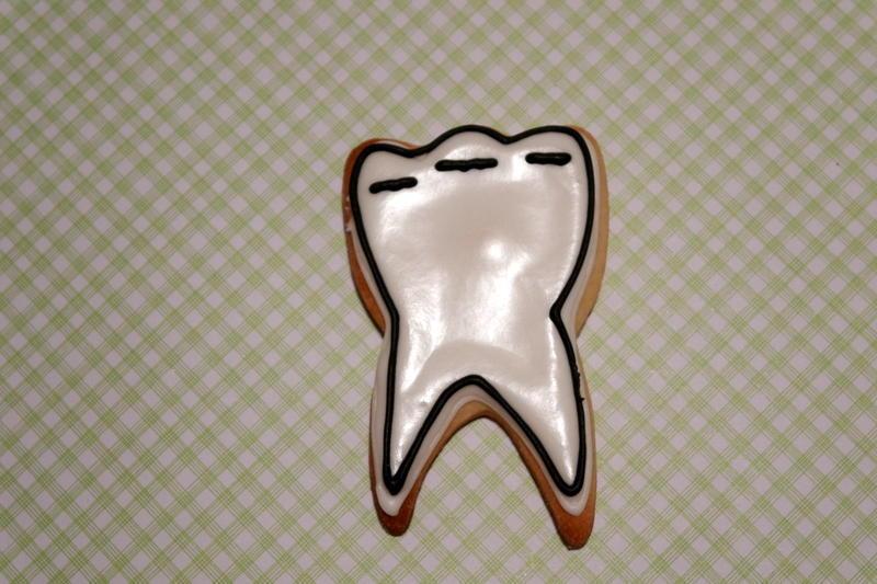 Dental TY cookies - Tooth