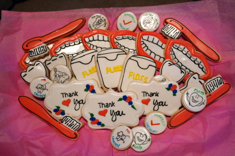 Dental Thank you cookies