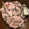 Paris Themed Birthday Cookies