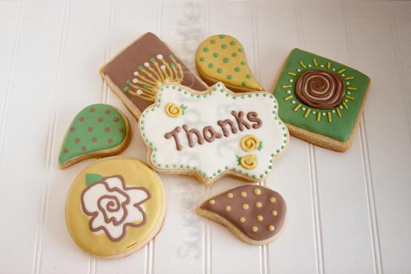 Scrapbook paper cookies (3 of 3)